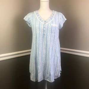 Eileen West S Short Nightgown Short Sleeve